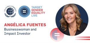 Iniciativa Women Rise for All de la Organización de las Naciones Unidas donde participó Angélica Fuentes junto a destacadas mujeres.