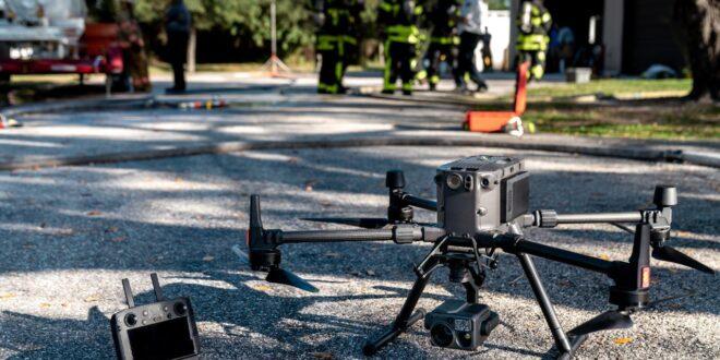 Seguritech ha desarrollado drones para apoyar en temas de seguridad.