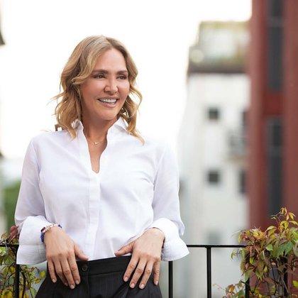 Angélica Fuentes, empresaria mexicana.
